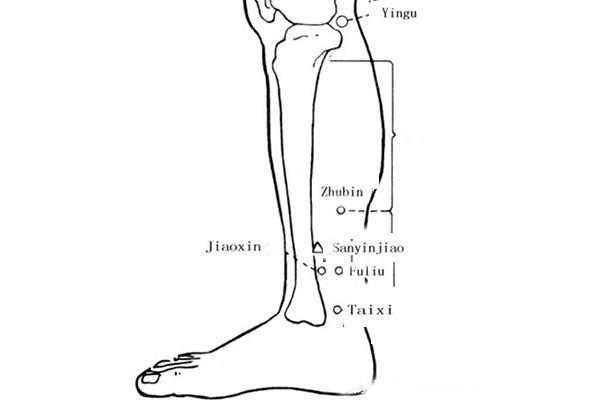 yingu acupoint