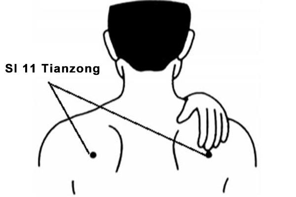 tianzong acupoint