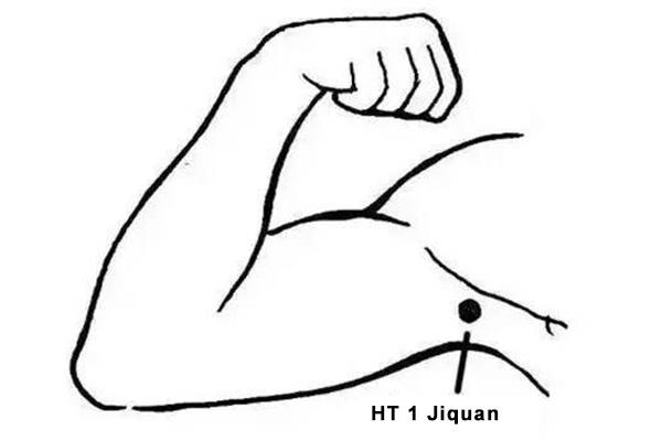 Jiquan acupoint
