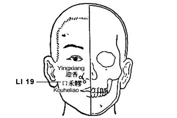 kouheliao acupoint