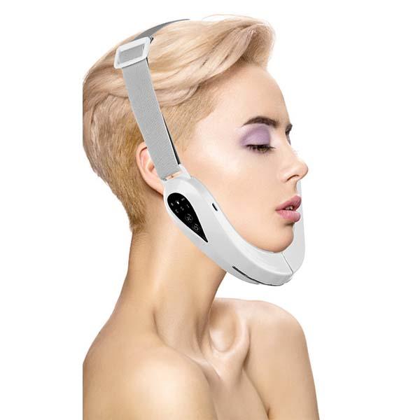 V shape face shaping led massager